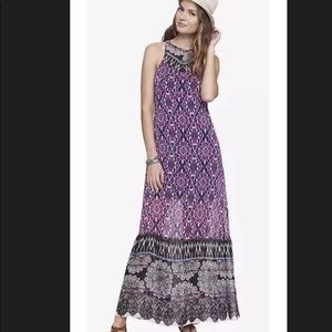 Express Sleeveless Maxi Dress